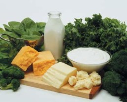 Foods containing lots of calcium